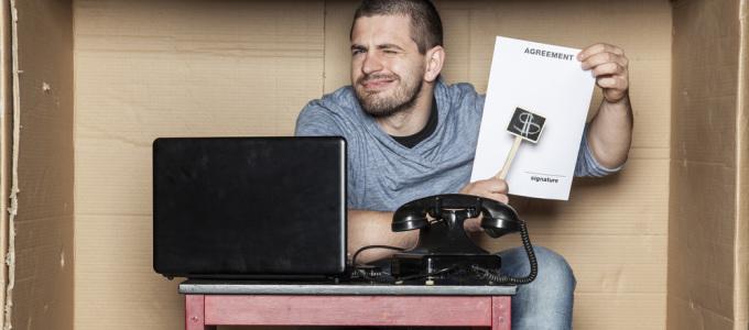 agente immobiliare dilettante