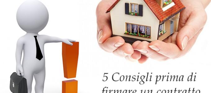 Contratto di Affitto: 5 consigli